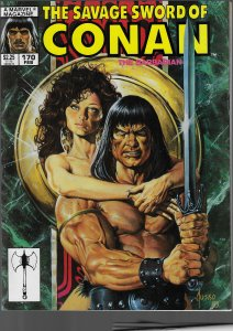Savage Sword of Conan #170 (Marvel, 1990)