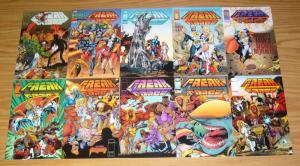 Freak Force #1-18 VF/NM complete series - erik larsen - savage dragon set lot