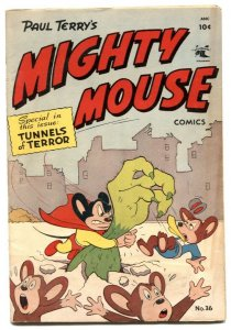 Mighty Mouse #36 1952- Golden Age comic VG/F
