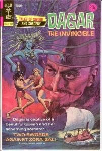 DAGAR THE INVINCIBLE 7 VF-NM   April 1974 COMICS BOOK
