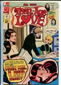 Teen-Age Love #88 1972- Charlton-Susan Dey-David Cassidy-nice poses-VG