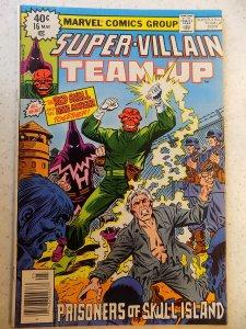SUPER-VILLAIN TEAM-UP # 16