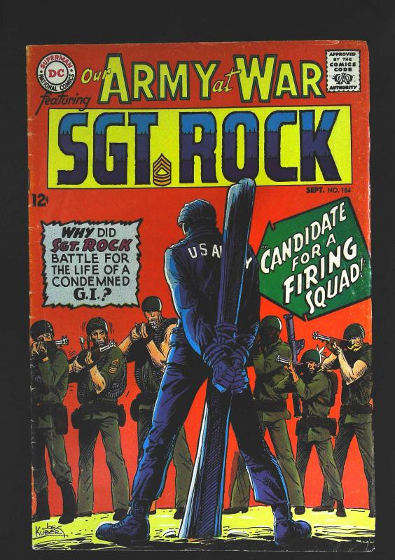Our Army at War (1952 series) #184, Fine- (Actual scan)