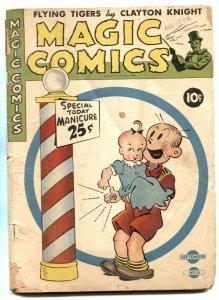 Magic Comics #38 1942- Popeye- Blondie G-