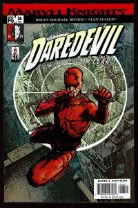 Daredevil #26 Bendis/Maleev Starts (Dec 2001, Marvel)  9.2 NM-