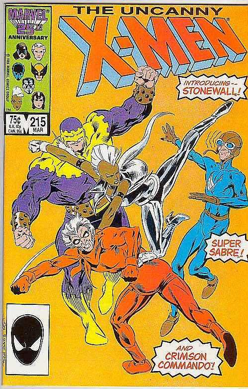X-Men #215 (Mar-87) NM Super-High-Grade X-Men