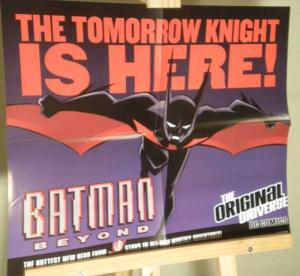 BATMAN - BEYOND Promo poster, 22x17, 1999, Unused, more Promos in store