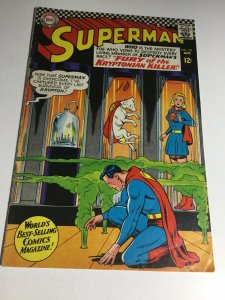 Superman 195 Vg+ Very Good+ 4.5 DC Comics