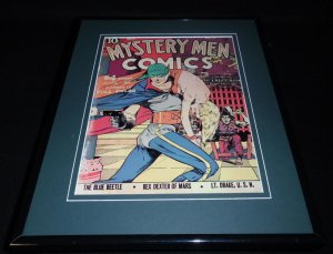 Mystery Men Comics #3 Eisner Framed Cover Photo Poster 11x14 Official RP