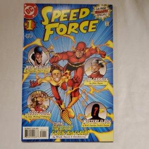 Speed Force 1 Near Mint- Art by Bill Sienkiewicz
