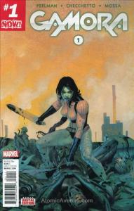 Gamora #1 VF/NM; Marvel   save on shipping - details inside