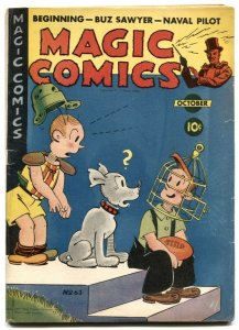 Magic Comics #63 1944- Popeye- Blondie- Lone Ranger VG+