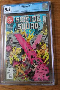 Suicide Squad #23 (DC, 1989) CGC NM/MT 9.8 White pages