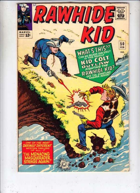 Rawhide Kid #50 (Feb-66) VF+ High-Grade Rawhide Kid