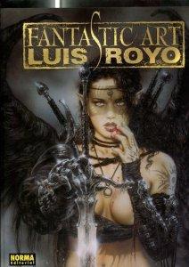 Luis Royo: Fantastic Art (album con litografia numerada 242 de 250 y estuche)...