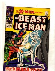 (Uncanny) X-Men # 47 NM- Marvel Comic Book Angel Beast Cyclops Jean Grey JF15