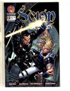 12 Scion Crossgen Comic Books # 13 14 15 16 17 18 19 20 21 22 23 24 Marz CJ7