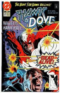 Hawk & Dove #27 (DC, 1991) FN/VF