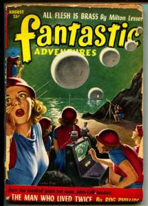 Fantastic Adventures-Pulp-8/1952-Rog Phillips-Don Wilcox