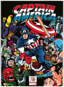 Captain America 75th Anniversary Magazine Kirby Variant (Marvel, 2016) NM