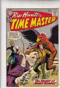 Rip Hunter Time Master #11 (Dec-62) VF+ High-Grade Rip Hunter, Jeff, Bonnie, ...