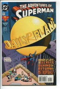 ADVENTURES OF SUPERMAN (1987 DC) #522 FN/VF NM