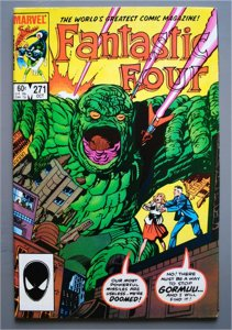 Fantastic Four #271  VF/Better    See Actual Photo