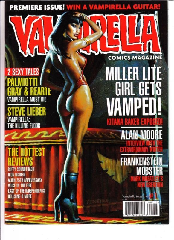 Vampirella #1 (Oct-03) NM/NM- High-Grade Vampirella