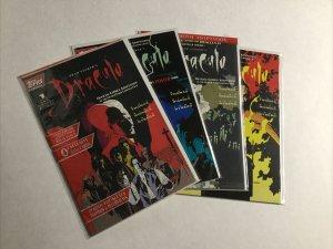 Dracula 1-4 1 2 3 4 Lot Set Run Nm Near Mint Topps Comics Stoker