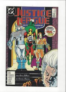 Justice League International #20 1987 DC Comics Copper Age  NM