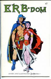 ERB-Dom #47 1971-Edgar Rice Burroughs fanzine-Tarzan-John Carter-Russ Manning-FN