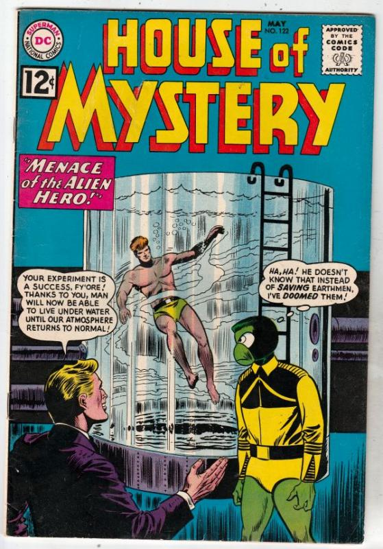 House of Mystery #122 (May-62) FN+ Mid-High-Grade