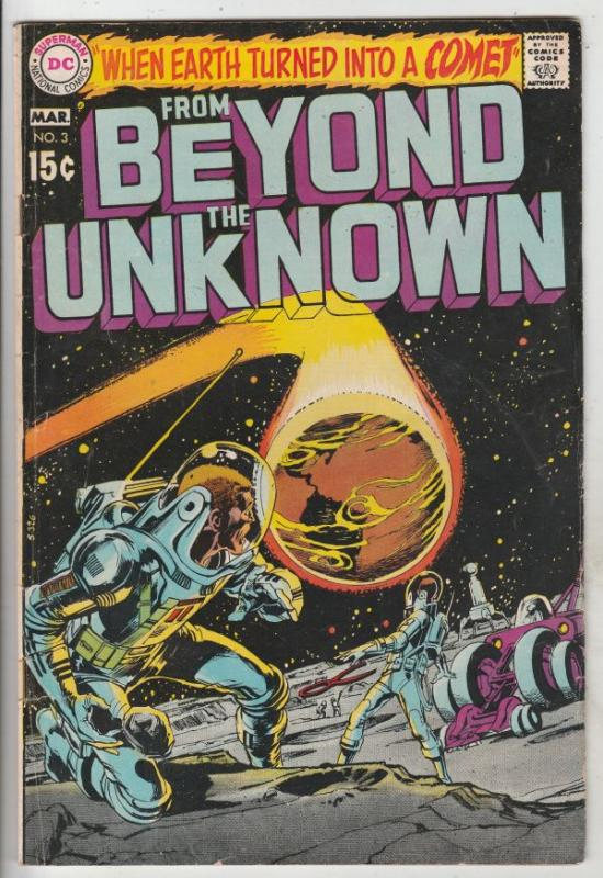 From Beyond the Unknown #3 (Mar-70) VG/FN Mid-Grade