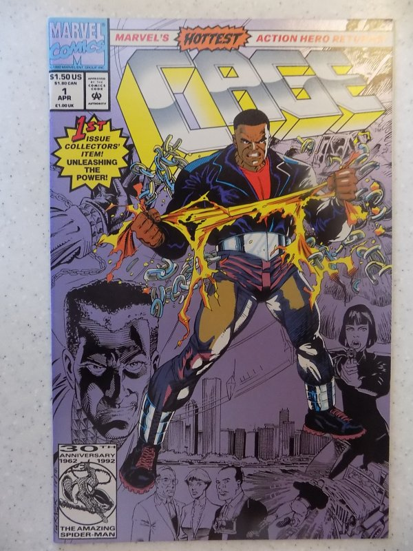 CAGE # 1 MARVEL POWER MAN ACTION