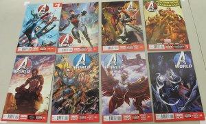 Avengers World 1-8