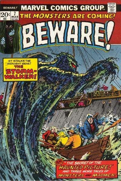 Beware (1973 series) #7, Fine- (Stock photo)