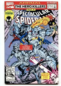 SPECTACULAR SPIDER-MAN ANNUAL #12 SOLO VENOM story  comic book  NM-