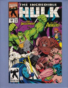 Incredible Hulk #404 NM- Juggernaut Avengers Red Skull Marvel 1993