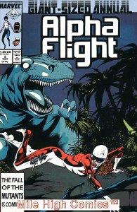 ALPHA FLIGHT ANNUAL (1986 Series) #2 Very Fine Comics Book