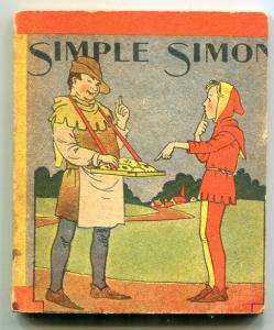 Simple Simon Wee Little Book 1934- Mother Goose Rhymes FN-
