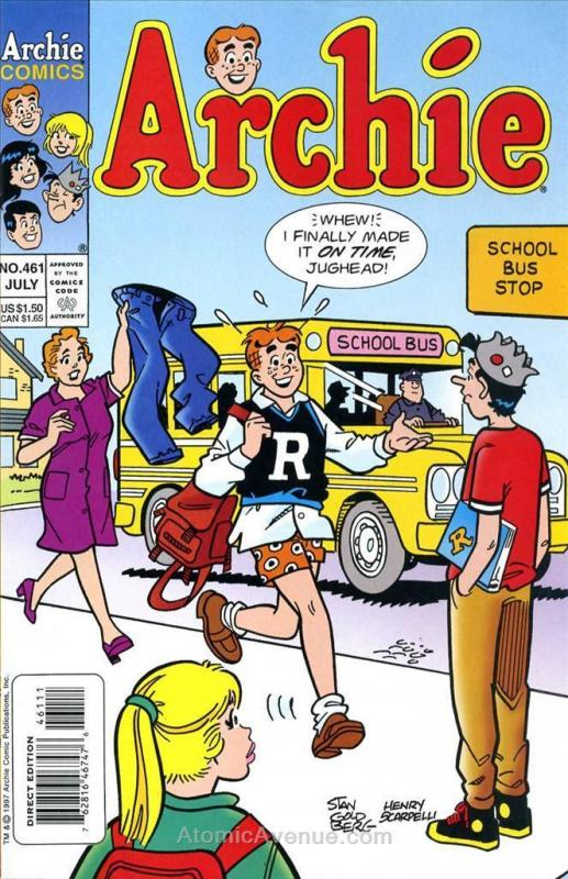 Archie #461 VF/NM; Archie | save on shipping - details inside
