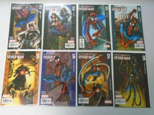 Ultimate Spider-Man lot 61 different from #51-131 avg 8.0 VF (2004-09 1st Series
