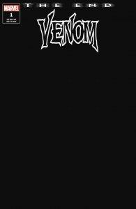 Venom: The End #1 Black Blank Sketch Variant