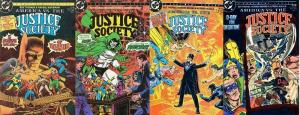 AMERICA VS THE JUSTICE SOCIETY (1985) 1-4  COMPLETE !!!