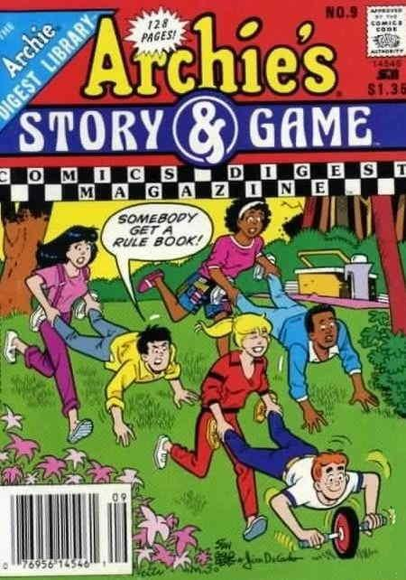 Archie's Story & Game Digest Magazine #9 VF; Archie | save on shipping - details