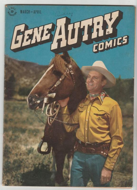 Gene Autry Comics #6 (Mar-47) VG/FN+ Mid-Grade Gene Autry
