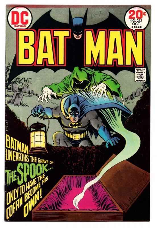 Batman #252 (Oct 1973, DC) - Very Fine-