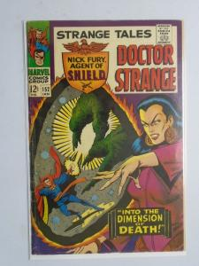 Strange Tales (1st Series) #152, 4.5 (1967) Cover Strange to See, From Staples