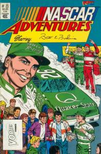 NASCAR Adventures #8 FN; Vortex | save on shipping - details inside