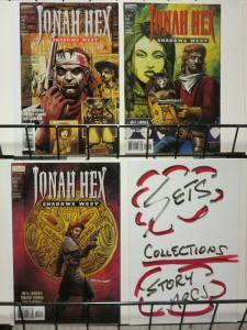 JONAH HEX SHADOWS WEST (1999 VERTIGO)1-3 complete story